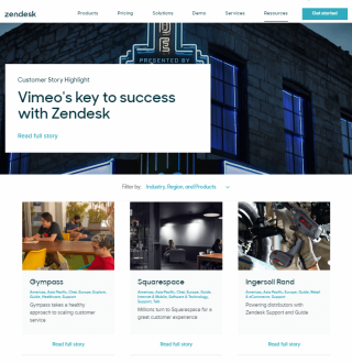 Zendesk case studies and testimonials