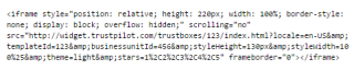 Trustbox code 2
