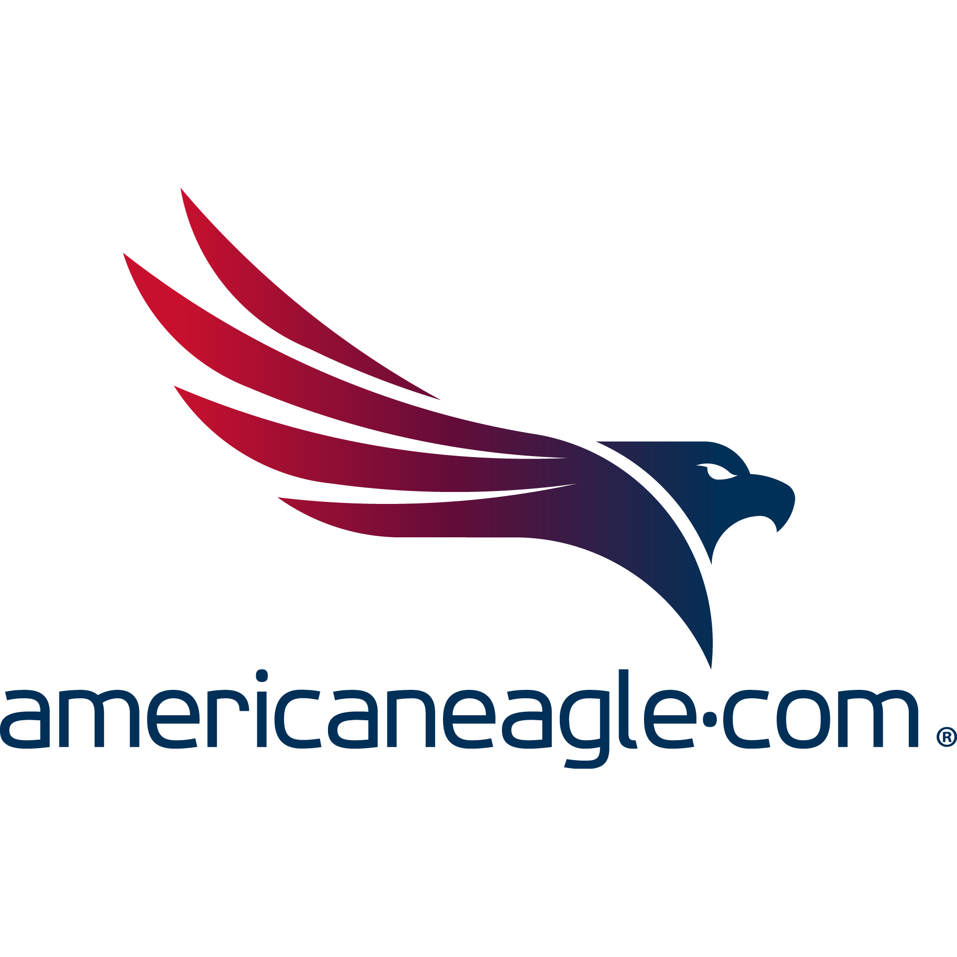 Americaneagle.com logo stacked rgb