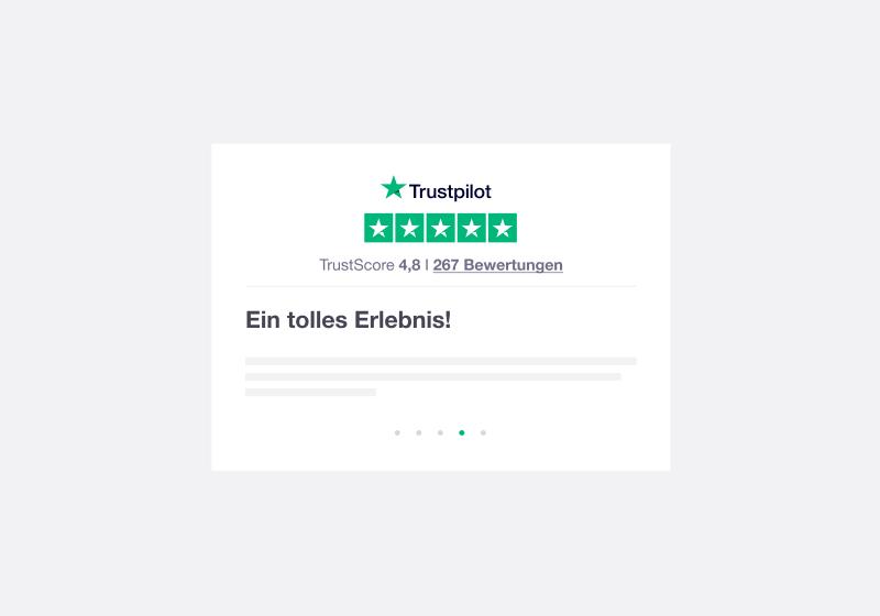 DE - Trustbox widgets