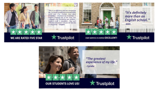 Trustpilot x Kaplan Reviews in Facebook Ads