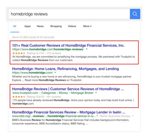 Homebridge google listing example