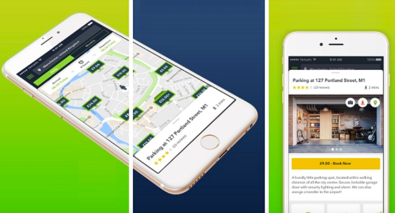 Yourparkingspace app
