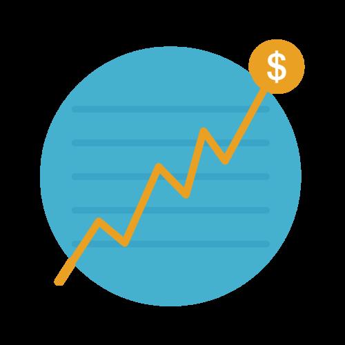 Grafico dei guadagni