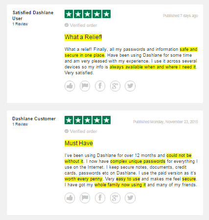 dashlane reviews