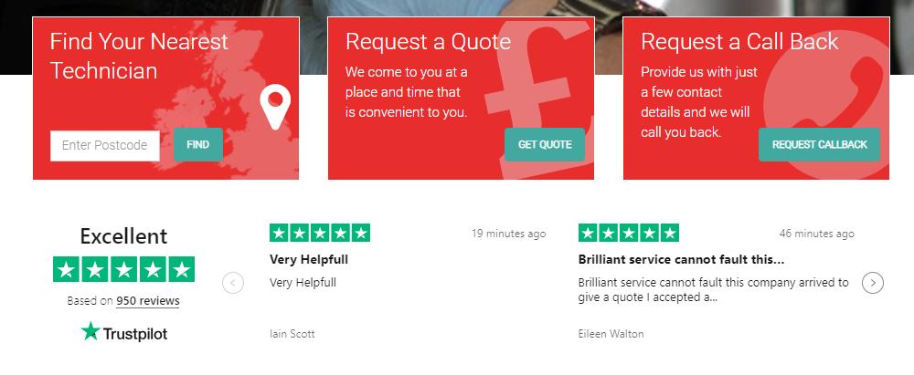 Revive homepage reviews