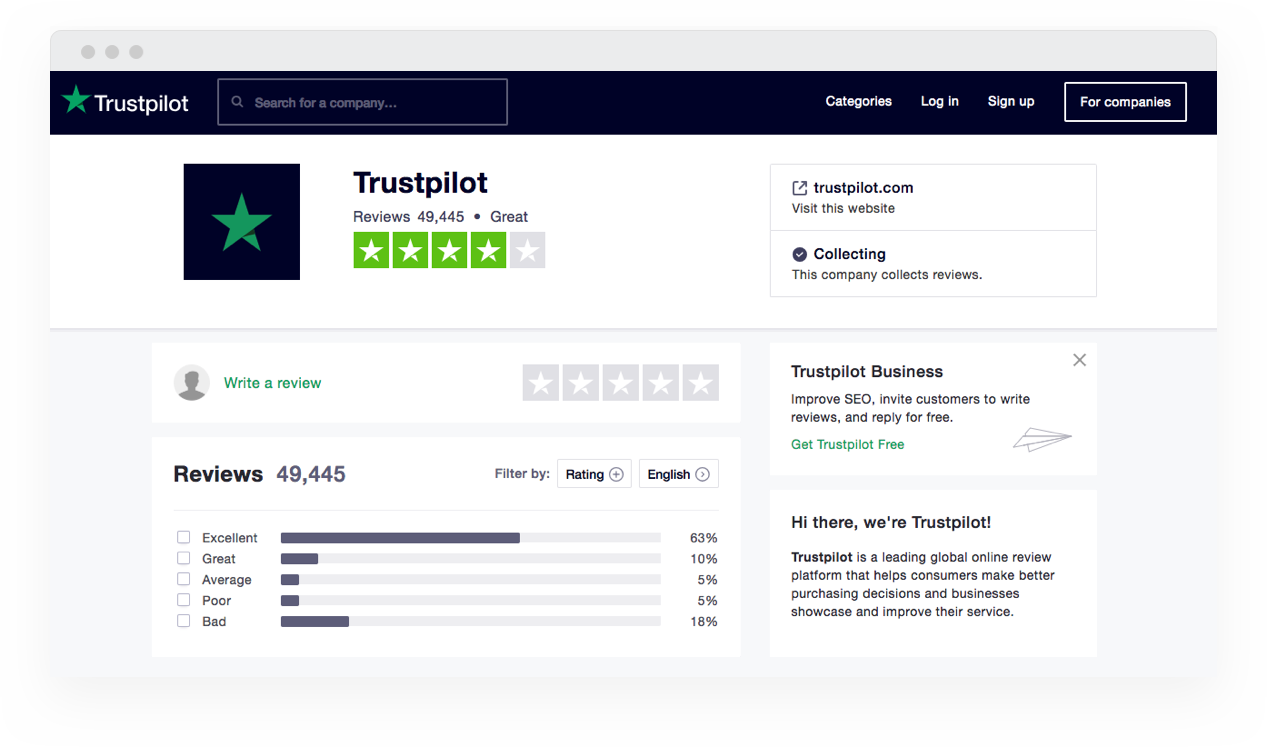 trustpilot-company-profile-screenshot