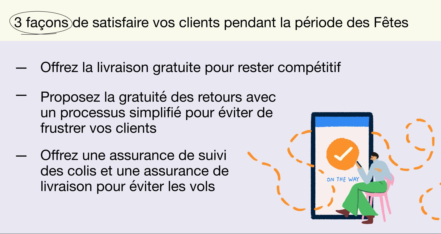 FR - Holiday report 2021 - 3 façons de satisfaire vos clients pendant la période des Fêtes