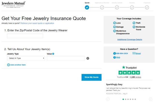 jewelers mutual reviews at checkout