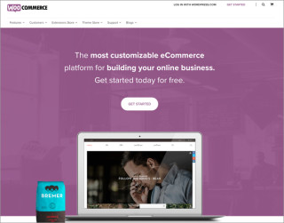screenshot woocommerce website 700x550