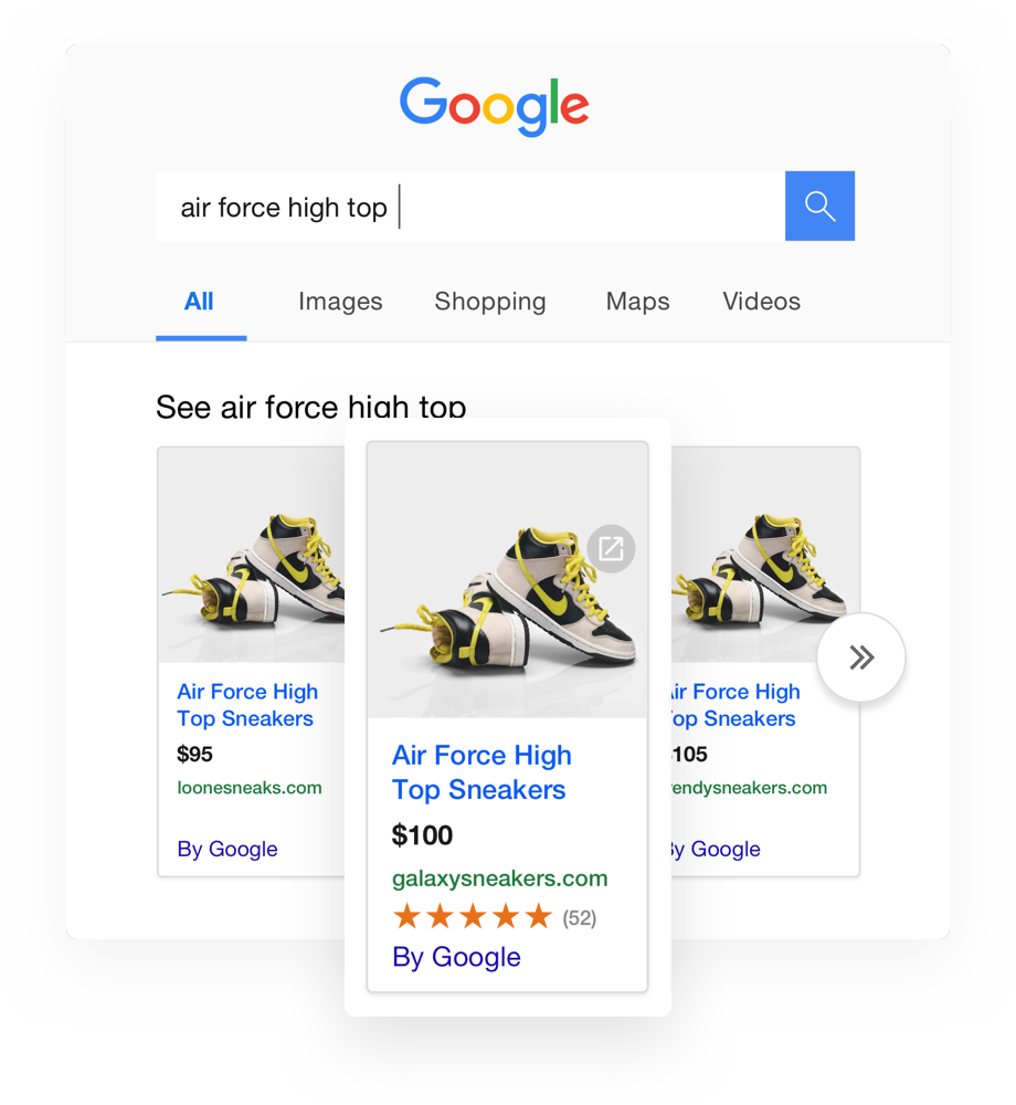 Be discovered in Google Shopping