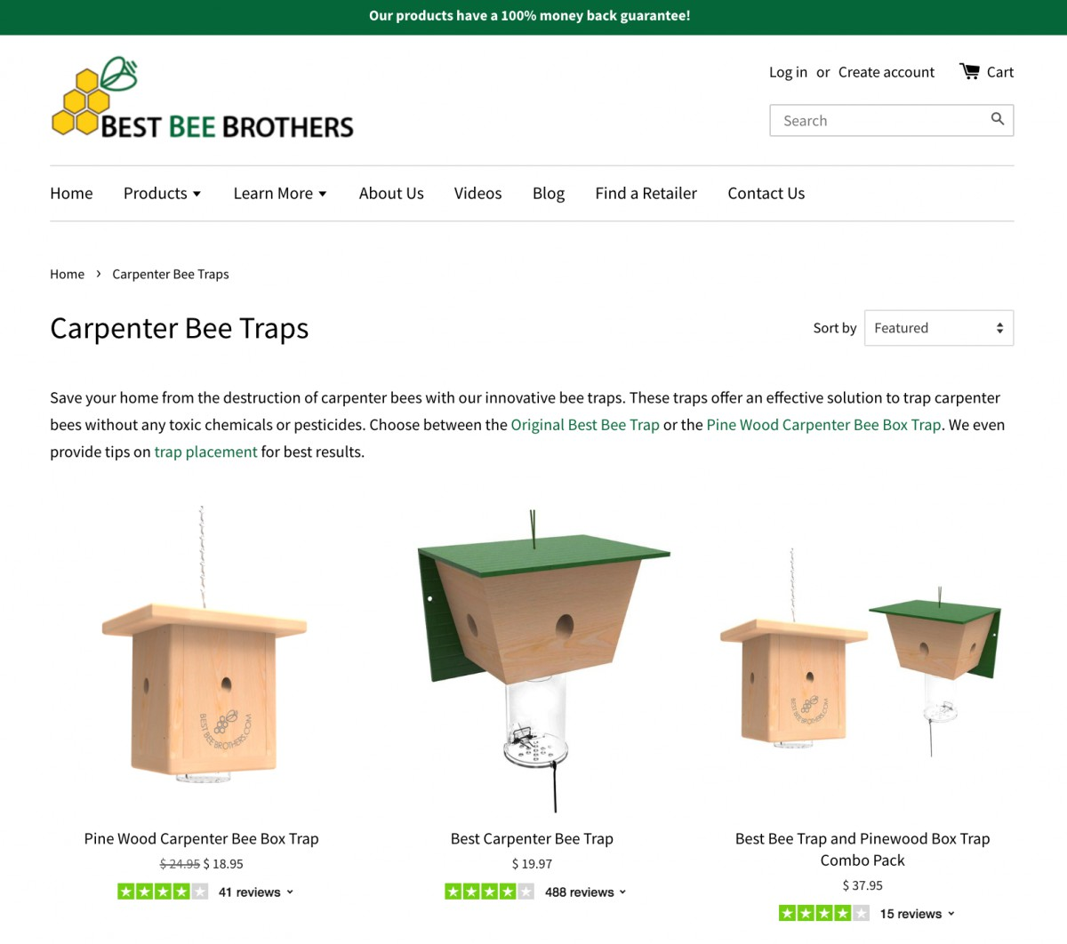 BBB Website Product Reviews (1)