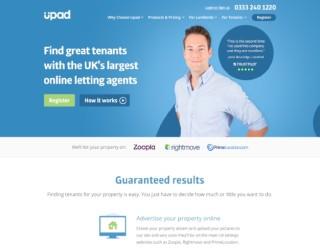Upad-Trustpilot-Website-Homepage