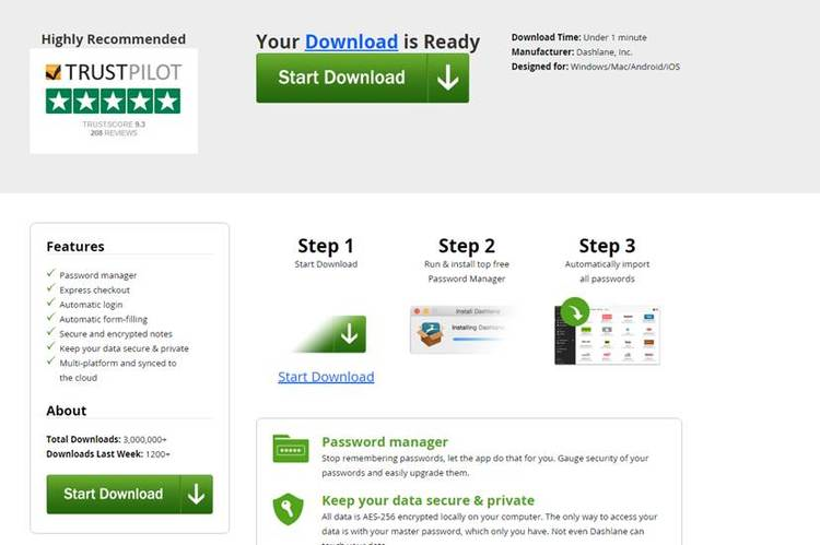 download is ready