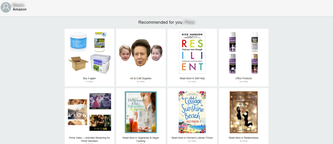 personal recommendations improve customer experience