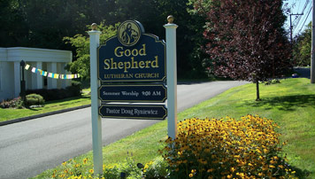 Good Shepherd Sign