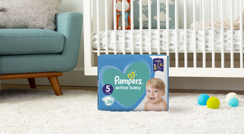 Pampers® Active Baby