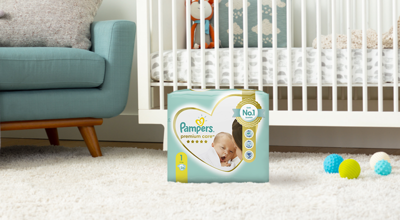 Pampers® Premium Care для новонароджених