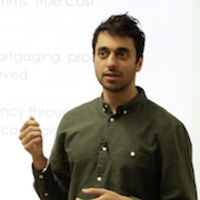 Ishaan Malhi presents at An Evening With Trussle