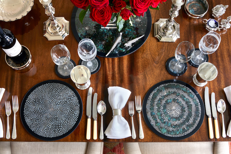 Table mats by Wingfield Digby