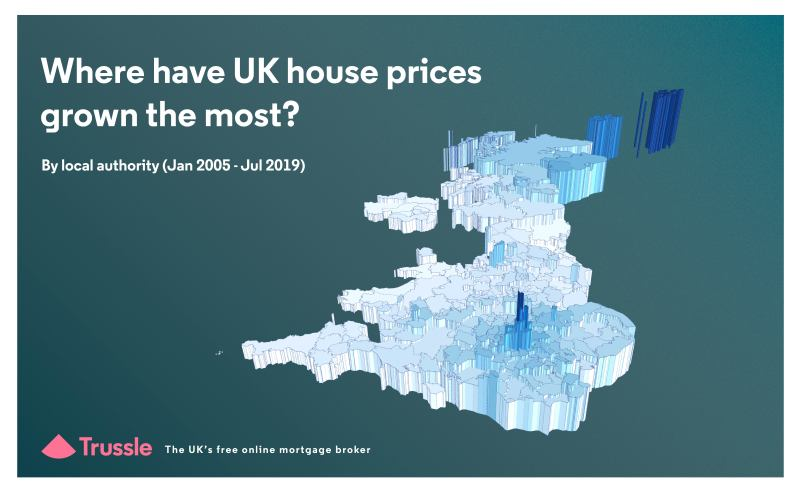 Where have UK house prices grown the most hero