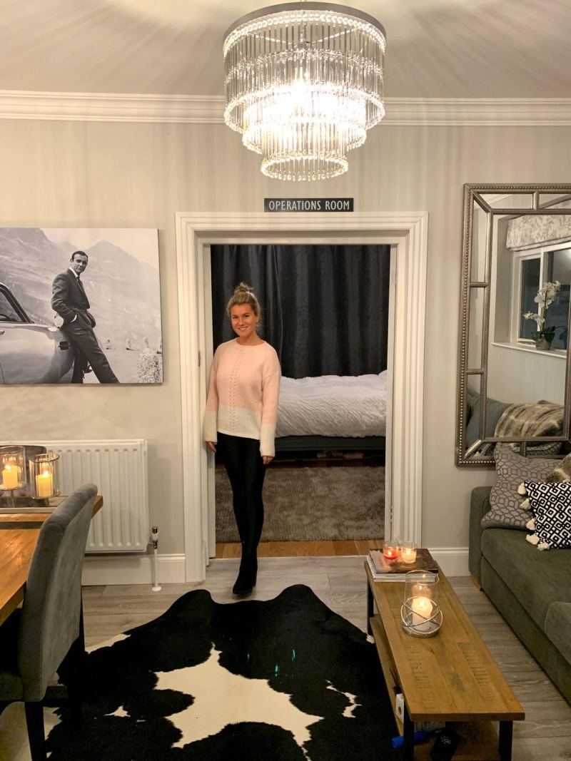 Laura Wheatley in her London flat