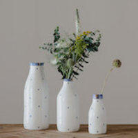 Rebecca Killen Ceramics Cobalt Collection Bottles Thumbnail