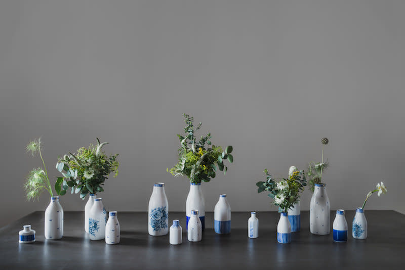 Rebecca Killen Ceramics Cobalt Collection