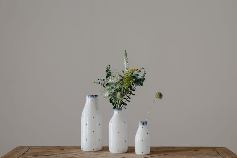 Rebecca Killen Ceramics Cobalt Collection Bottles