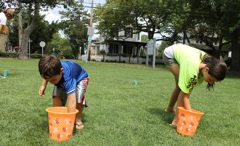 Fill Your Bucket Is A Great Summer Game To Play In The Garden
