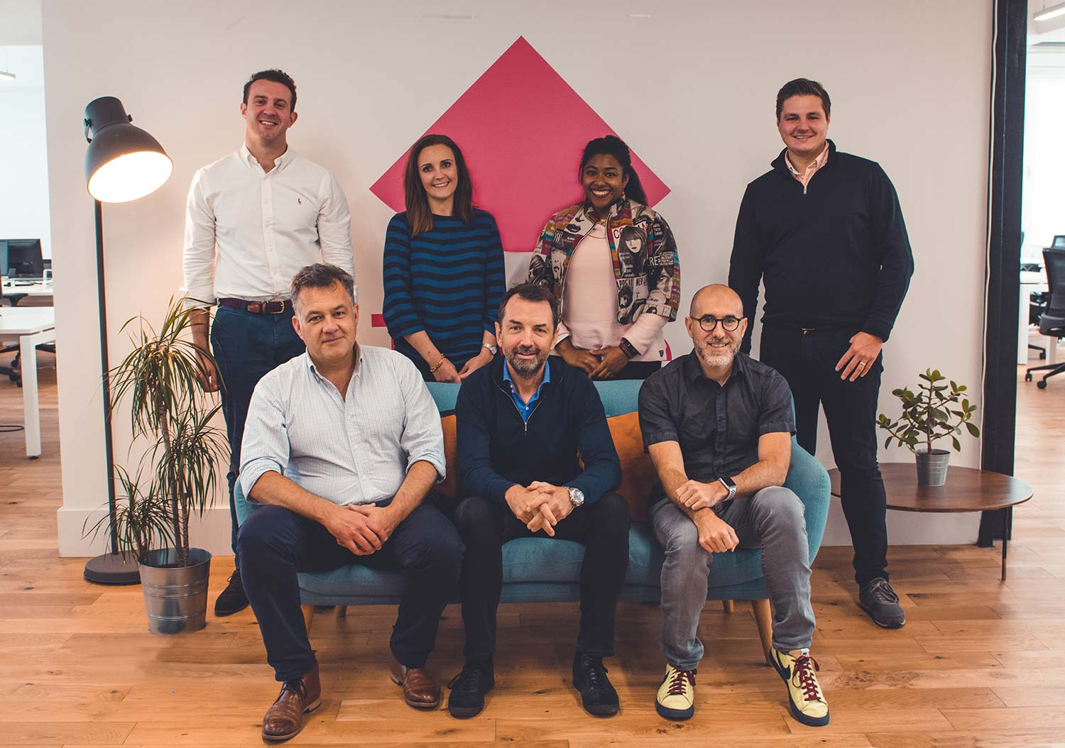 Trussle leadership team, October 2020