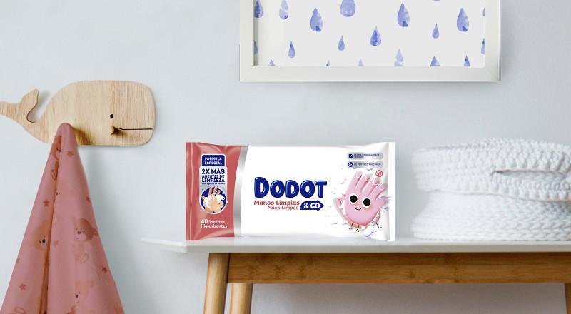 Toallitas Dodot® Manos Limpias & GO