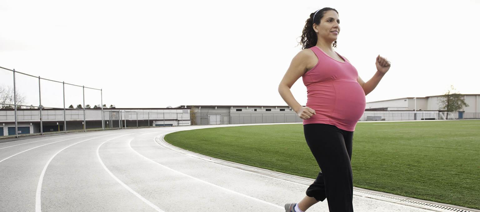 Salir a correr durante el embarazo