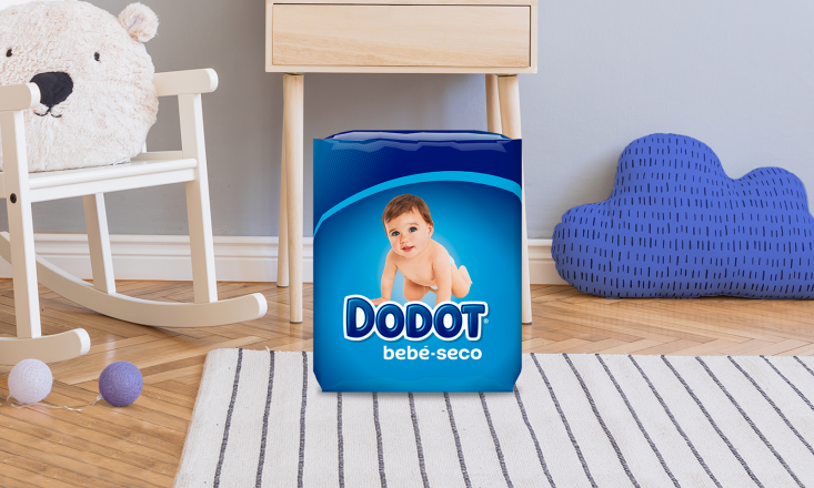PAÑALES Dodot® Bebé-Seco