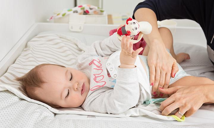 cacas de bebé
