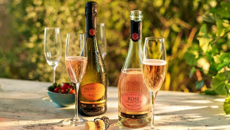 Co-op rose wine