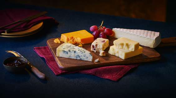 Christmas cheese range