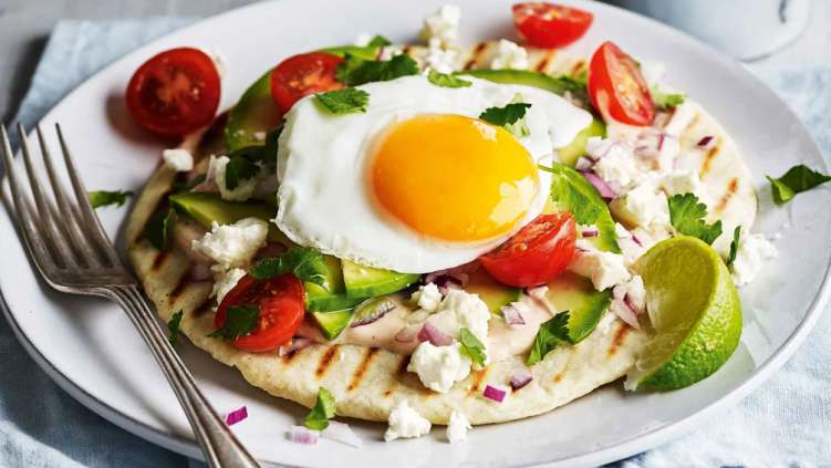 Breakfast flatbreads