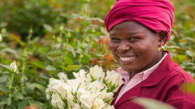 Fairtrade flowers hero