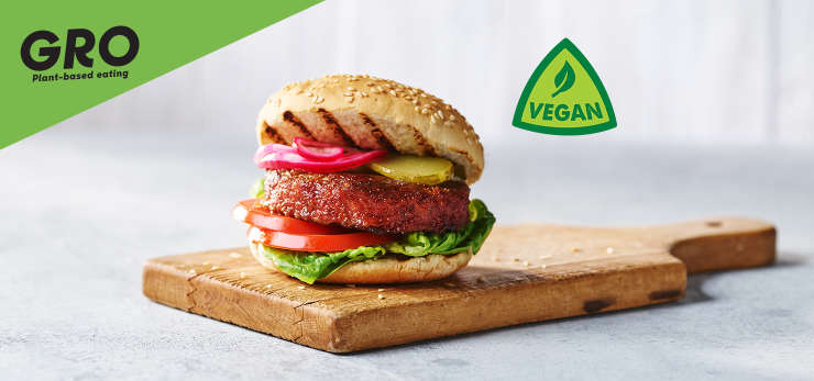 Give our vegan Gro range a go