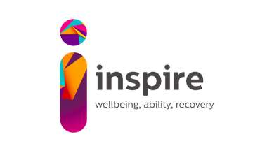logo of mental health organisation Inspire