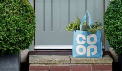 Co-op home delivery service