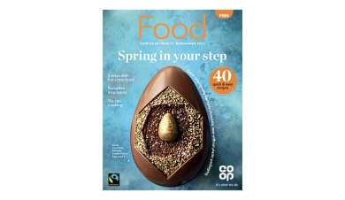 Co-op March food magazine cover