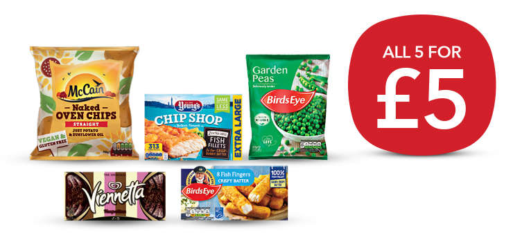 Get our latest Freezer Fillers deal hero