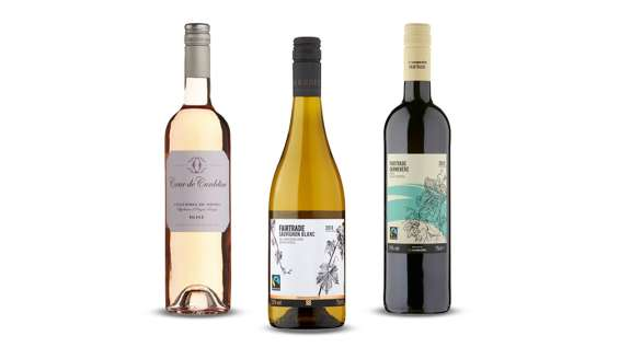 Treat yourself to one of our award-winning wines from £5