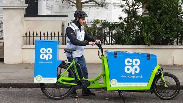 Co-op delivery service