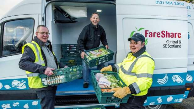 food waste Fareshare