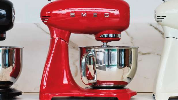 Win an iconic Smeg Stand mixer