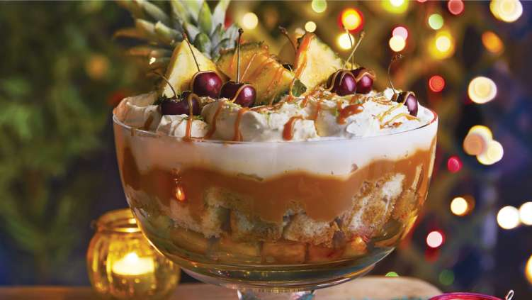 Co-op pineapple trifle