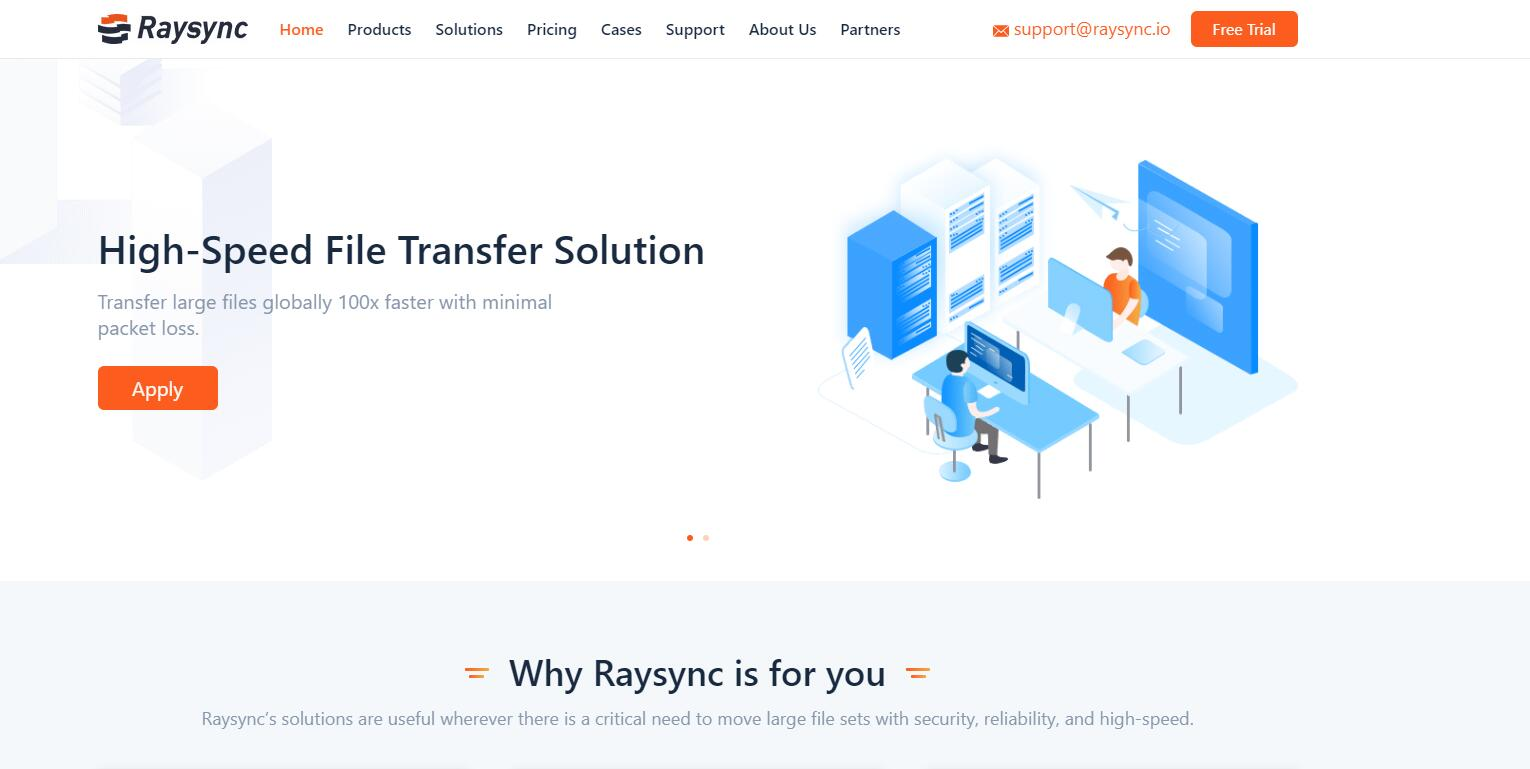 raysync-file-transfer